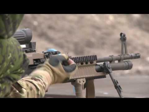 The Danish Military Has a New Retro-Futuristic Machine Gun