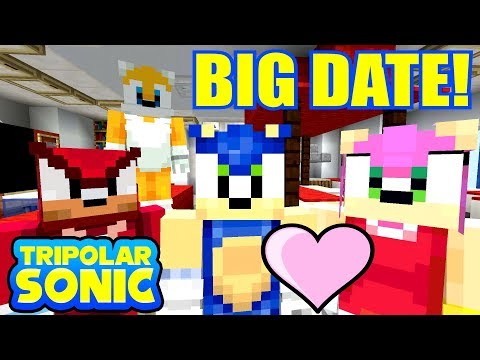 SONIC AND AMY'S BIG DATE! *LOVE?!* | Sonic The Hedgehog Series | Minecraft [6]