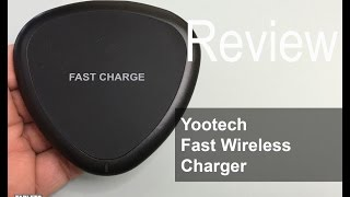 Yootech Fast Wireless Charger for the Note 5, S6 Plus and S6 Series