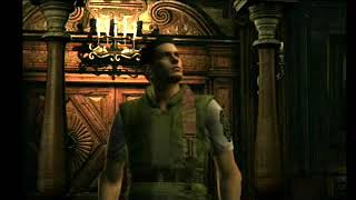 RESIDENT EVIL REMAKE -nintendo gamecube- once again- HARD- chris