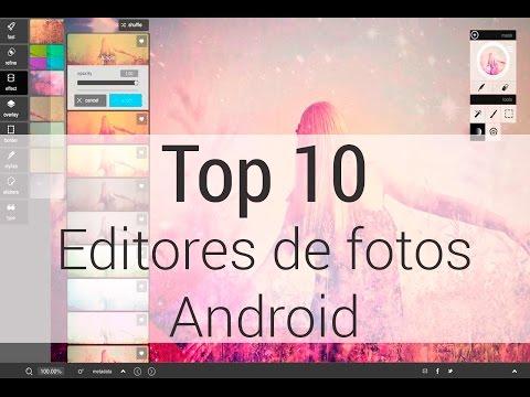Descarga Gratis Top 10 editores de fotos para android