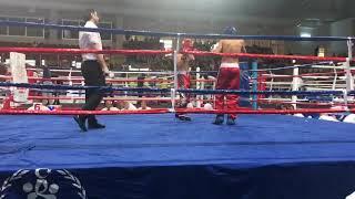 Türkiye Kickboks Şampiyonası Bolu çeyrek final kırmızı köşe Nakavt