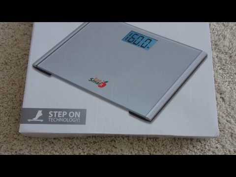 Eat Smart Precision Plus Bathroom Scale Unboxing