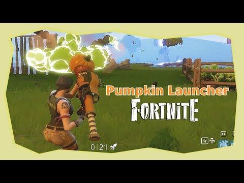 Fortnite - Strength Of The Pumpkin Launcher | 8 Kills