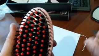 Обзор на расческу-выпрямитель FAST HAIR STARAIGHTENER HQT-906
