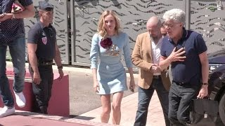 Diane Kruger and Matthias Schoenaerts attend the Photocall of Maryland in Cannes