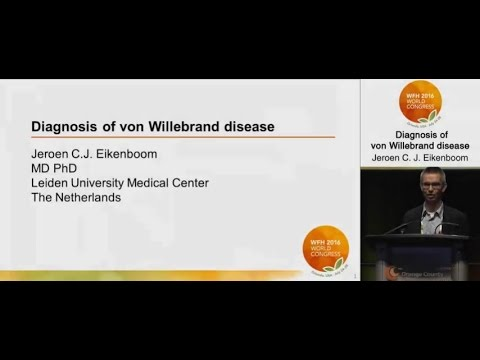 Diagnosis of von Willebrand Disease (VWD)