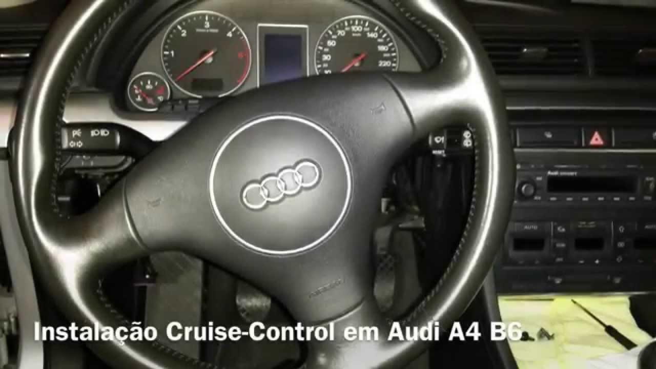 instala o f sica de cruise control em audi a4 b6 youtube rh youtube com 99 Audi Quattro 1999 Audi A6 Quattro AWD