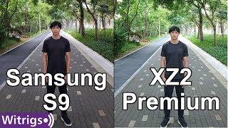 Samsung S9 & Sony XZ2 Premium Camera Comparison - Camera Test