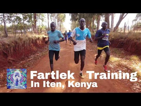 Fartlek Training in Iten, Kenya