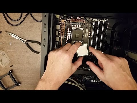 Upgrading my CPU from a Core i7 with 4 cores to a Xeon with 6 cores, P6T Deluxe motherboard