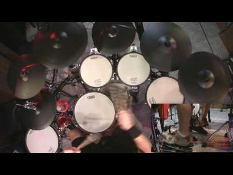 Hinder - Heaven Sent - Drum Cover