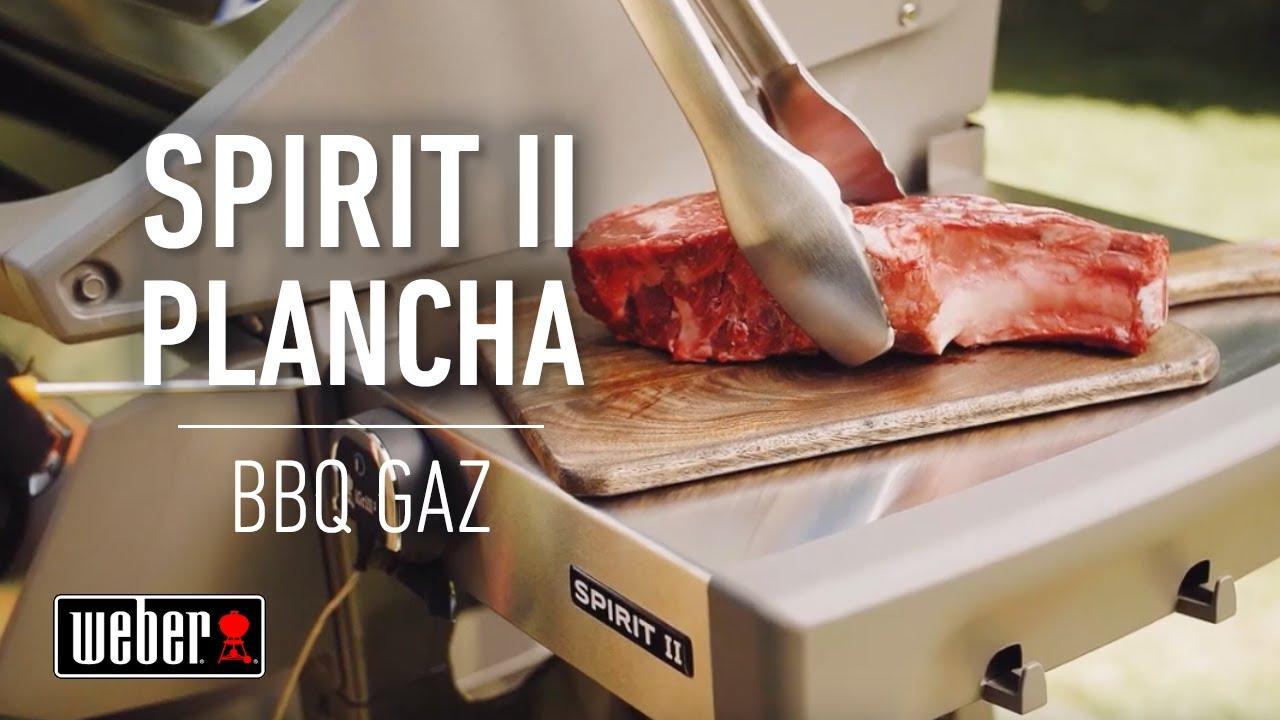 spirit ii plancha les barbecues a gaz weber