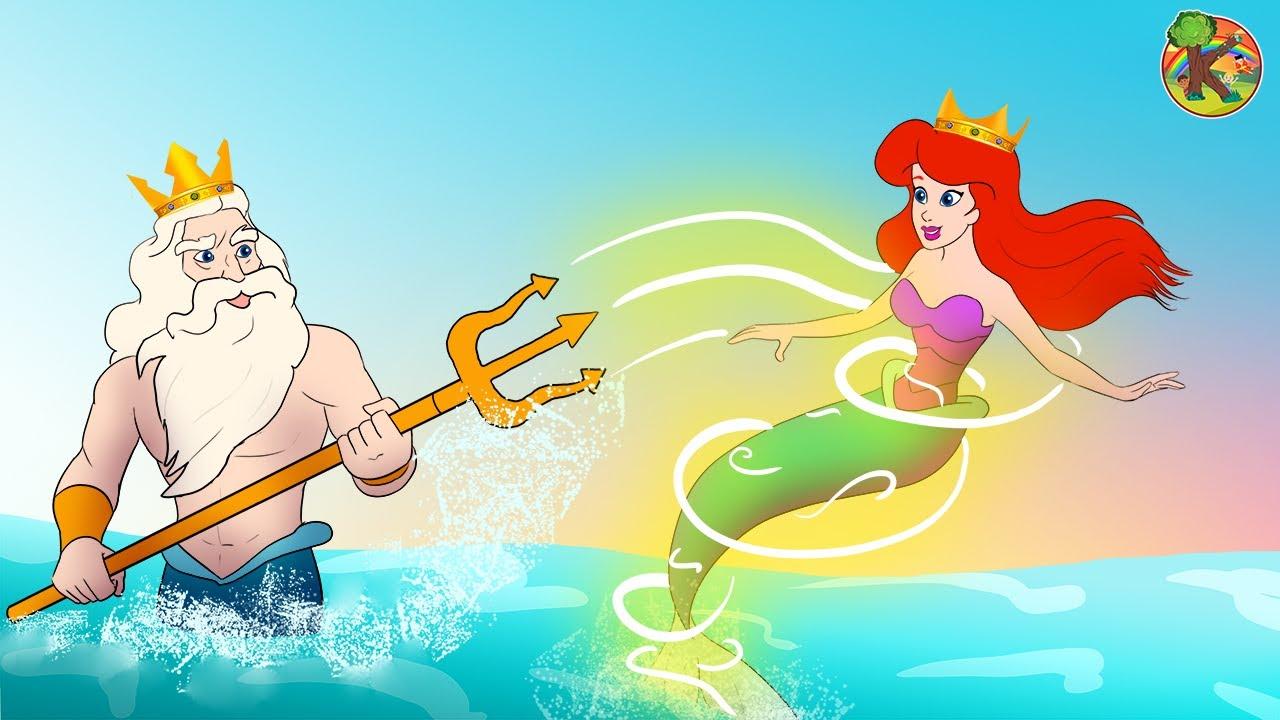 حورية البحر The Little Mermaid قصص الاميراتkondosan Princess قصة اطفال فيلم كرتون Youtube