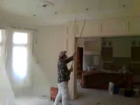 How to paint a 12 foot ceiling fast and efficiently for How much to paint a ceiling