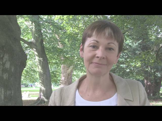 Caroline Lucas: My Top 3 Values for #WorldValuesDay