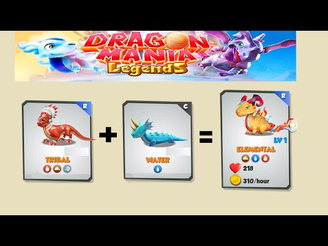How to breed Elemental Dragon - Dragon Mania Legends