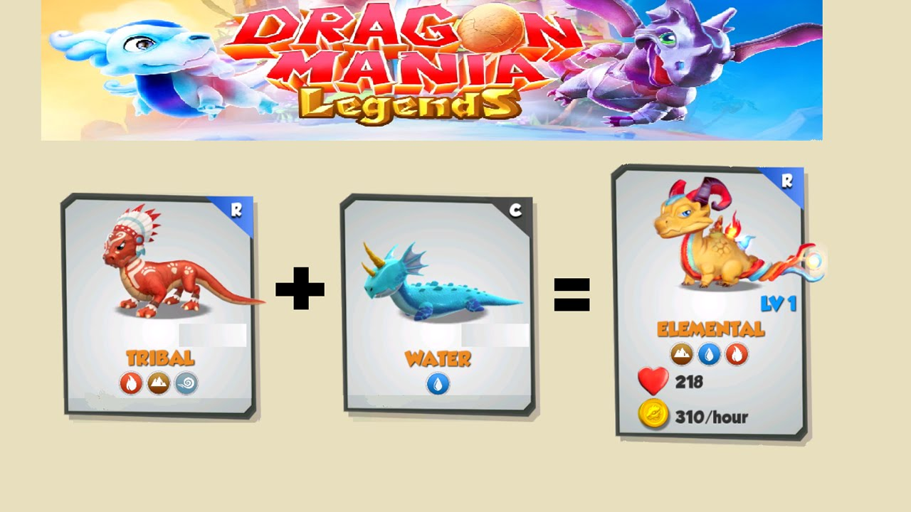 how to breed legend dragon in dragon mania legends