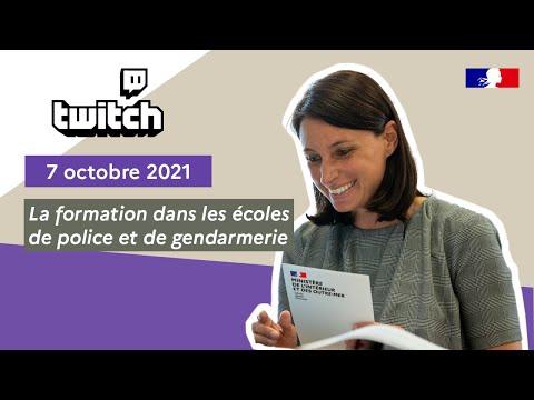 #FaceCam' Twitch du 7 octobre | La formation dans les école de Police et de Gendarmerie