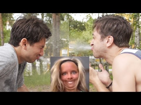 TRY NOT TO LAUGH MED VATTEN | Challenge Time #4