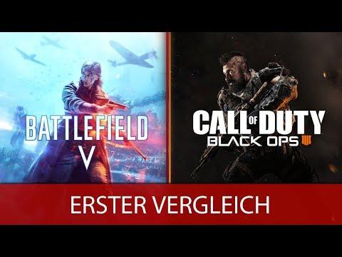 Battlefield 5 vs Call of Duty Black Ops 4 - Erste Infos, Trailer und Gameplay - [Deutsch/German] thumbnail