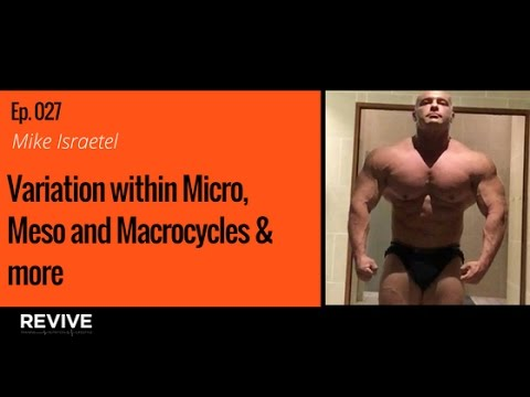 027: Dr. Mike Israetel - Variation within Micro, Meso and Macrocycles & more