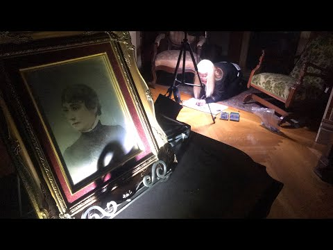 The House That Ghosts Built -  Inside Sarah Winchester's Room  (REAL Ouija Board Seance Footage)