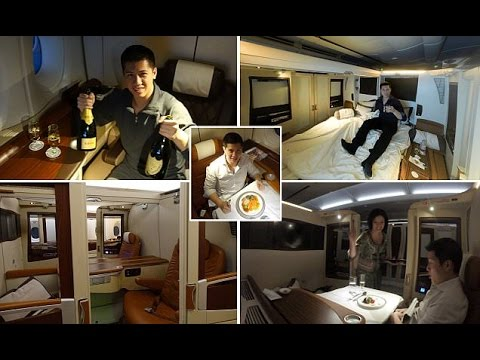 Savvy traveller snared a $16k ultra luxury Singapore Airlines first class suites ticket