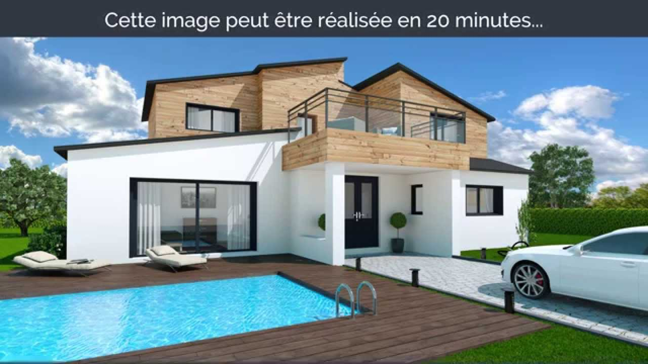 My sketcher teaser logiciel de plans 3d pour la maison for Maison moderne home sweet home