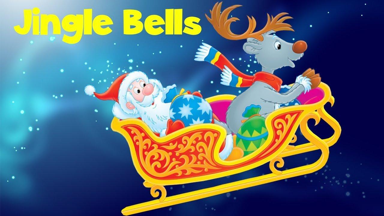 Jingle Bells With Lyrics   Christmas Song for Kids Children   Nursery Rhymes Songs - YouTube