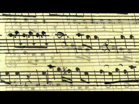 Adagio by Quantz with three Pardessus viols