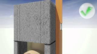 Видеоинструкция по монтажу керамического дымохода