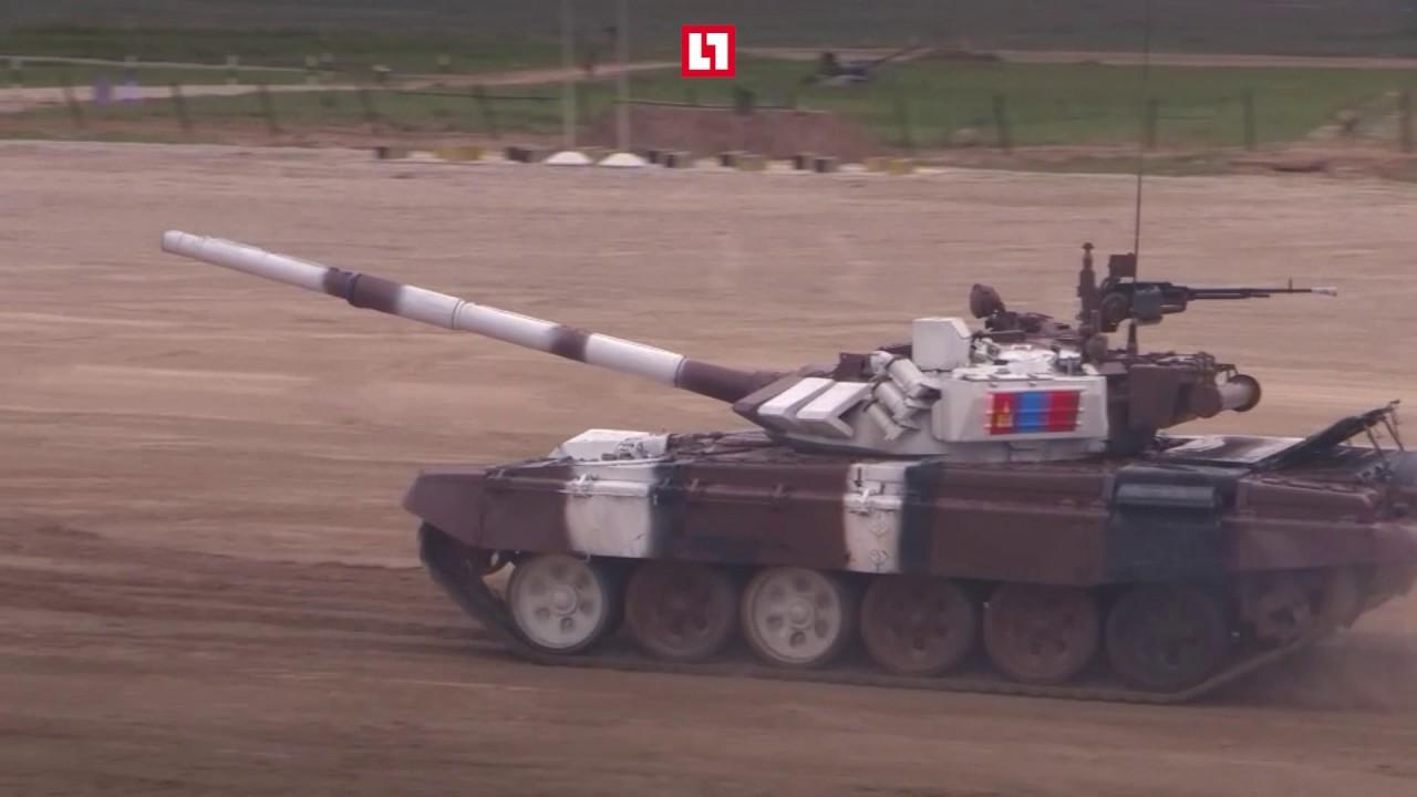 Дали жару! Танковый огонь и взрывы первого дня АрМИ - 2017
