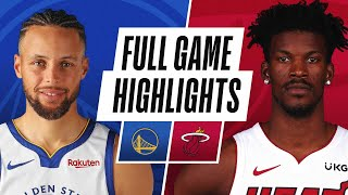 WARRIORS at HEAT | FULL GAME HIGHLIGHTS | April 1, 2021