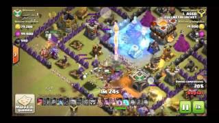 CLASH OF CLANS - 3 STELLE VS TH11 CON BOCCIATORI