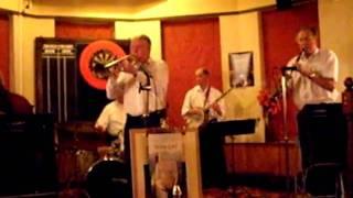 trad jazz band at the becket pub