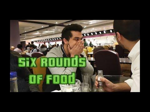 Six rounds of food   Daily vlog 001   Royal Nawab London