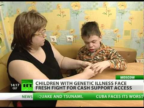 Zip code lottery of life & death for Russian kids with Hunter's