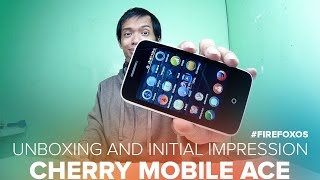 Cherry Mobile Ace FireFox Os Unboxing and Initial Impression - ₱1,499