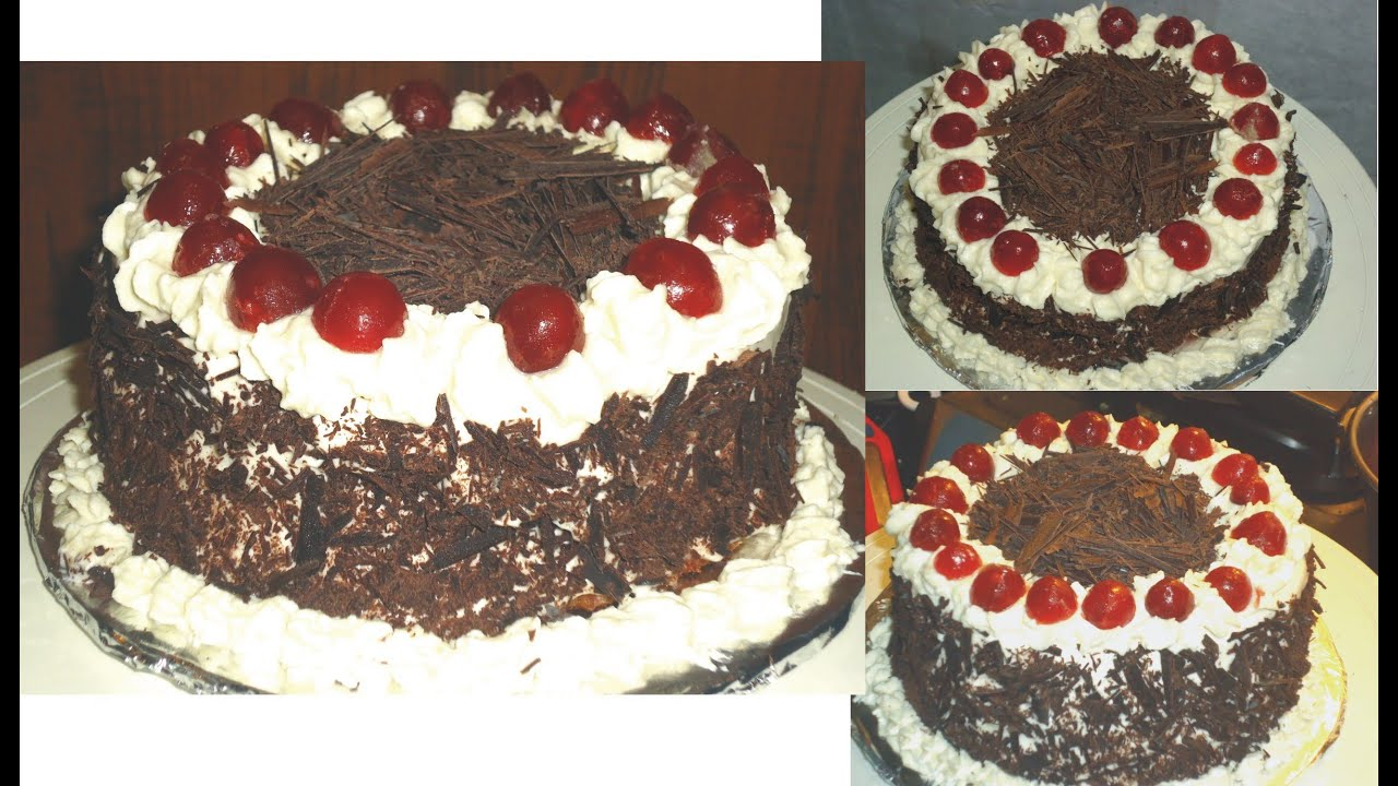 Black Forest Cake, Black forest cake recipe, Chocolate ...