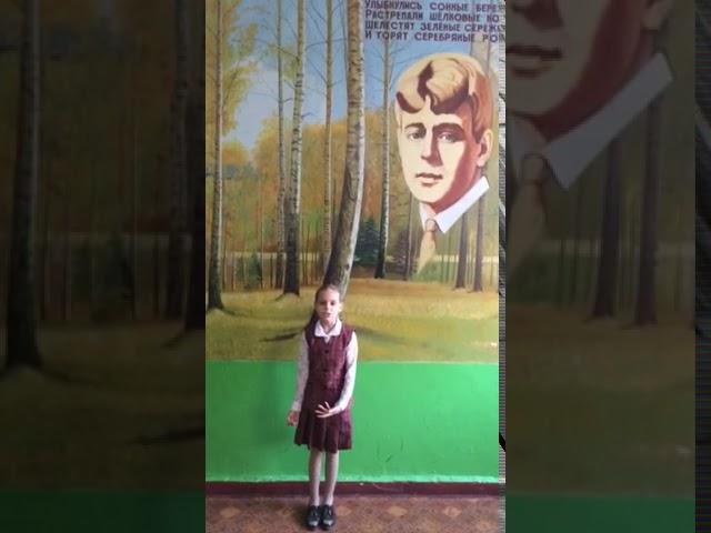 Изображение предпросмотра прочтения – МаринаЛевыченкова читает произведение «Чары» С.А.Есенина