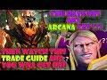 Dota 2 trade guide  How to get Arcana?
