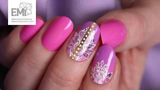 Как нарисовать узоры на ногтях?