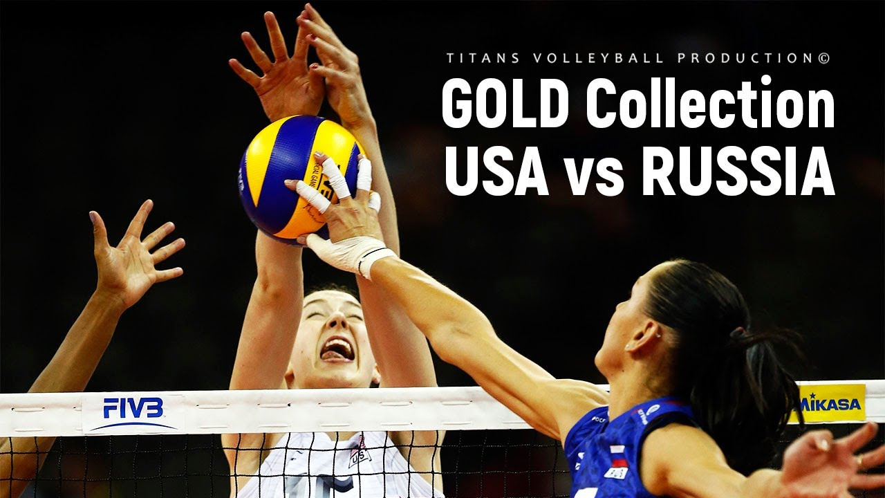 GOLD Collection - USA vs Russia FINAL (Highlights) | Women's Volleyball World Grand Prix 2015