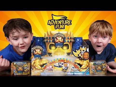 "Treasure X Kings Gold ""Hunters"" Season 3 Adventure Fun Toy Review!"