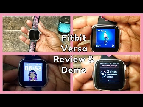 Fitbit Versa Review & Demo (and how to get one CHEAP!!!)
