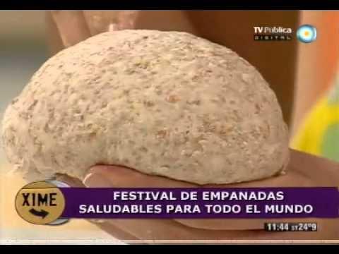 Saludables empanadas hechas con harina integral (Parte 1