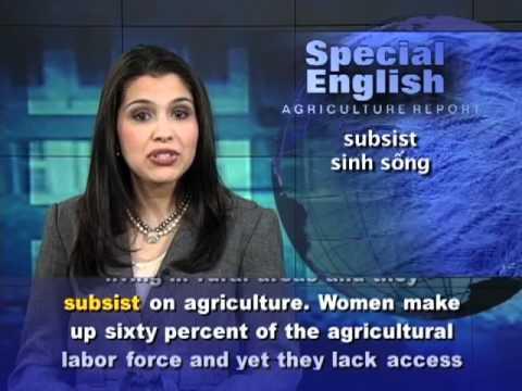 Phát âm chuẩn cùng VOA - Anh ngữ đặc biệt: Empowering Women (VOA)