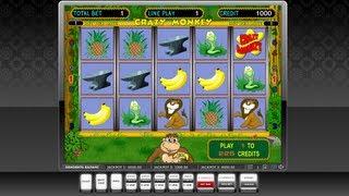 Слот игра CRAZY MONKEY(Игра: CRAZY MONKEY Описание: 9 линий, бонус и супер бонус игра. Имеется каска http://re-casino.ru/ - система управления игров..., 2013-03-08T12:53:37.000Z)