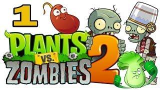 ч.01 Plants vs. Zombies 2 - Растения против Зомби 2(Прохождение игры Plants vs. Zombies 2 Подпишитесь чтобы не пропустить новые видео. Подписка на мой канал - http://bit.ly/MiniK..., 2014-02-06T07:30:00.000Z)